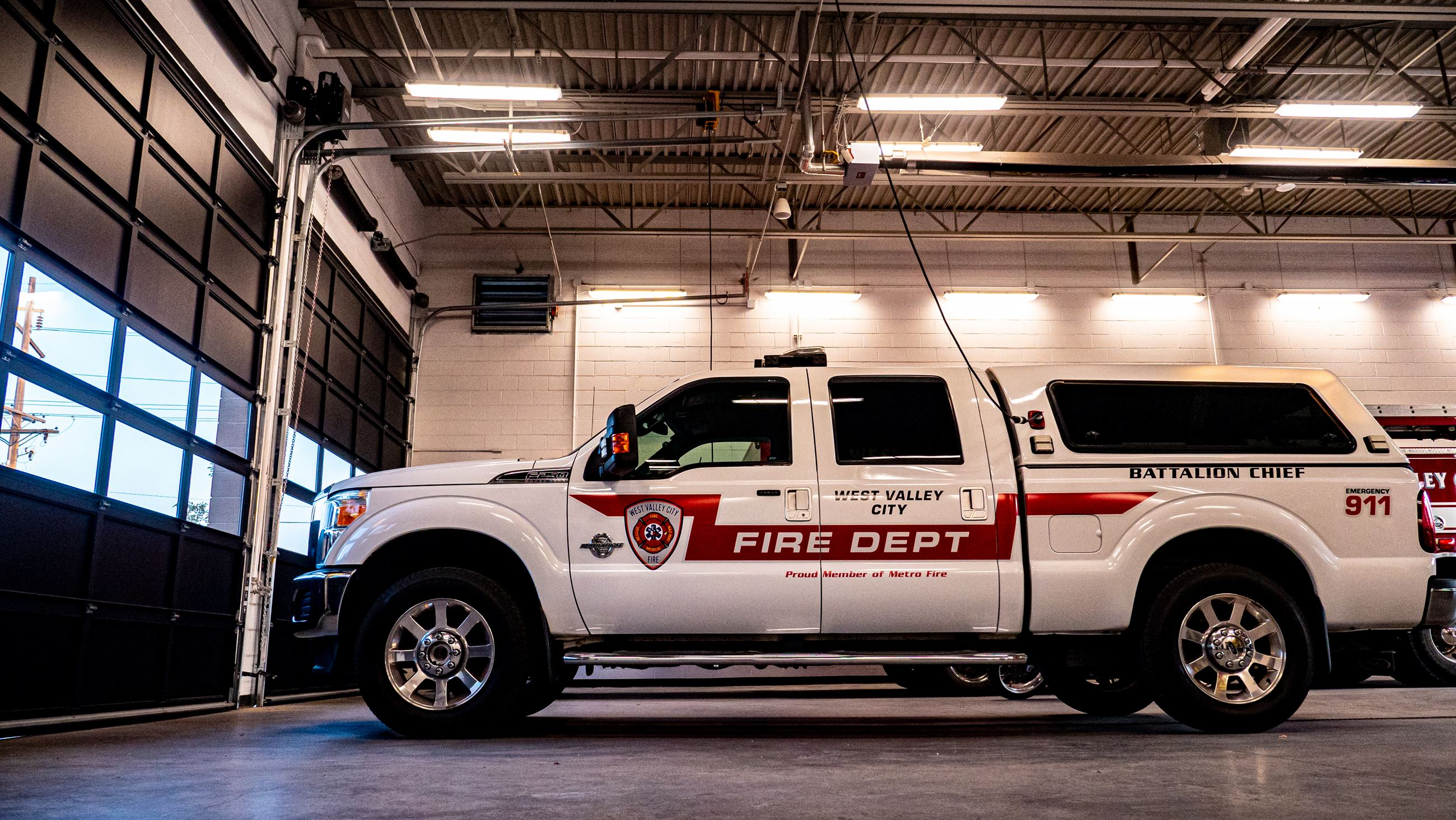 Photo of Station 72 Battalion Chief Truck